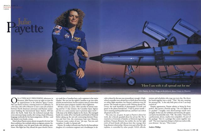 Article Preview: Julie Payette, December 1999 | Maclean's