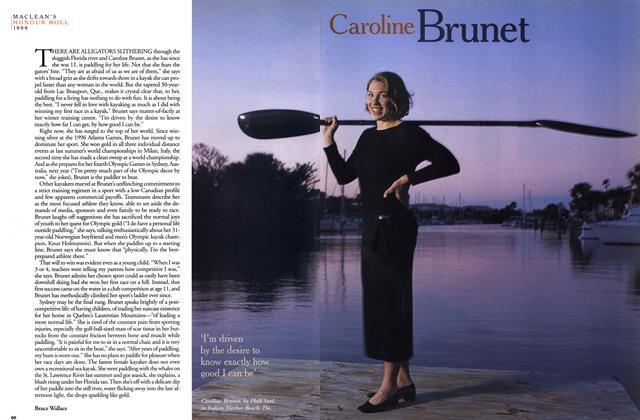 Article Preview: Caroline Brunet, December 1999 | Maclean's
