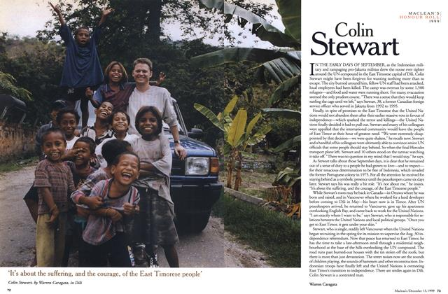 Article Preview: Colin Stewart, December 1999 | Maclean's