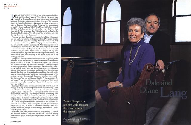 Article Preview: Dale and Diane Lang, December 1999 | Maclean's