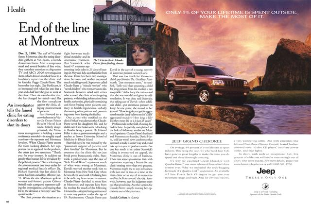 Article Preview: End of the line at Montreux, December 1999 | Maclean's