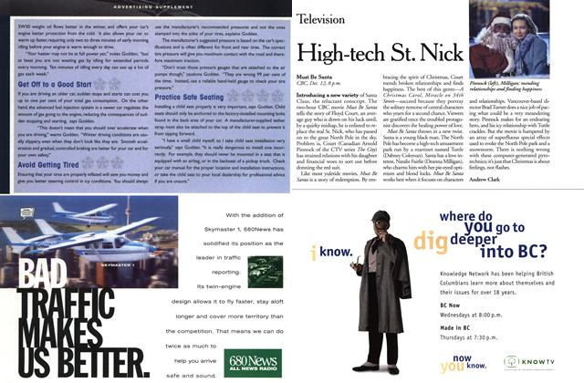 Article Preview: High-tech St. Nick, December 1999 | Maclean's