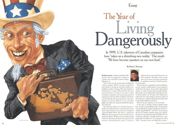 Article Preview: The Year of Living Dangerously, December 1999 | Maclean's
