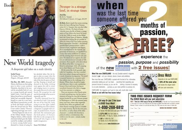 Article Preview: New World tragedy, December 1999 | Maclean's