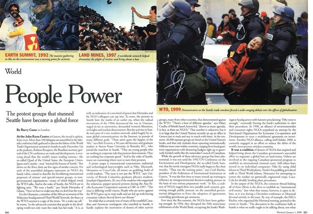 Article Preview: People Power, January 2000 | Maclean's