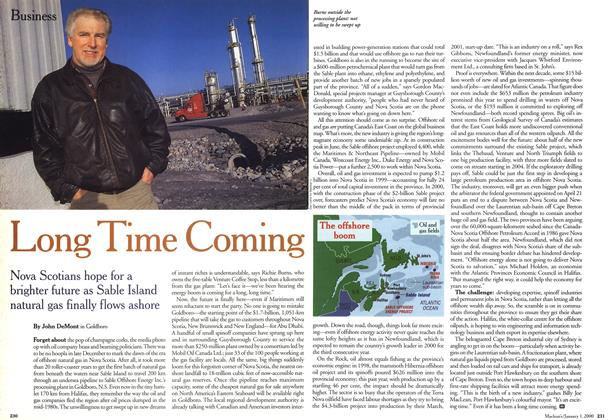 Article Preview: Long Time Coming, January 2000 | Maclean's