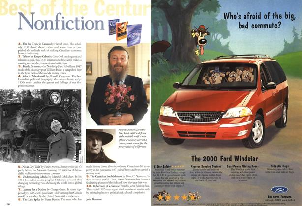 Article Preview: Nonfiction, January 2000 | Maclean's