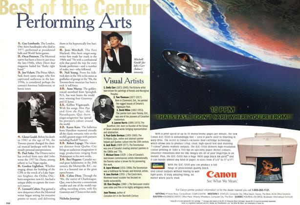 Article Preview: Performing Arts, January 2000 | Maclean's