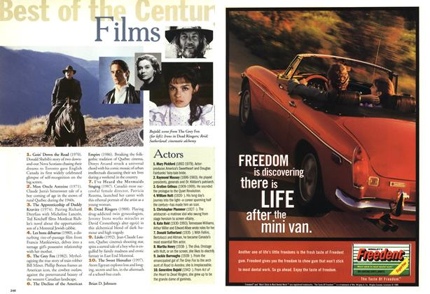 Article Preview: Films, January 2000 | Maclean's