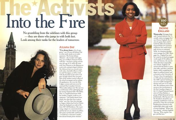 Article Preview: Into the Fire, January 2000 | Maclean's