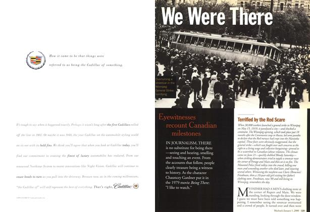 Article Preview: We Were There, January 2000 | Maclean's