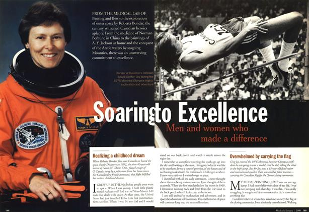 Article Preview: Soaring to Excellence, January 2000 | Maclean's