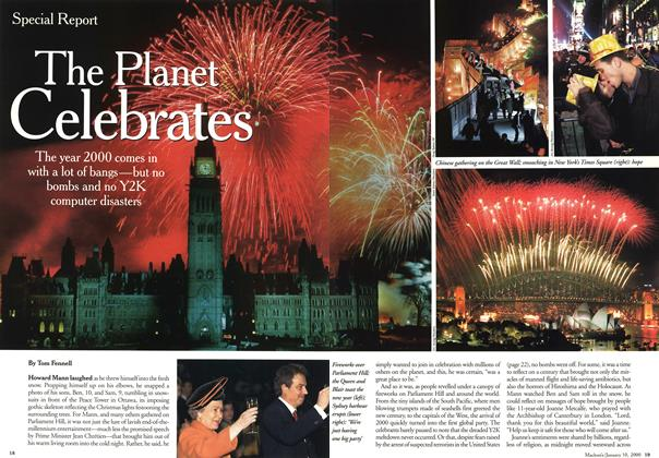 Article Preview: The Planet Celebrates, January 2000 | Maclean's