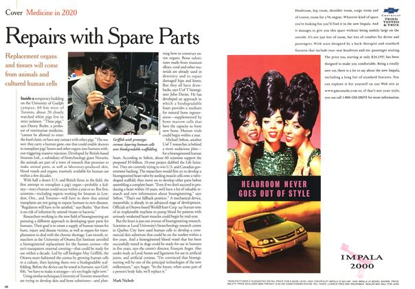 Article Preview: Repairs with Spare Parts, January 2000 | Maclean's