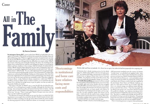 Article Preview: All in The Family, January 2000 | Maclean's