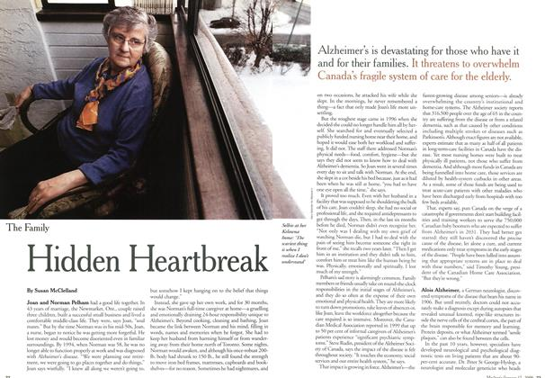 Article Preview: Hidden Heartbreak, January 2000 | Maclean's