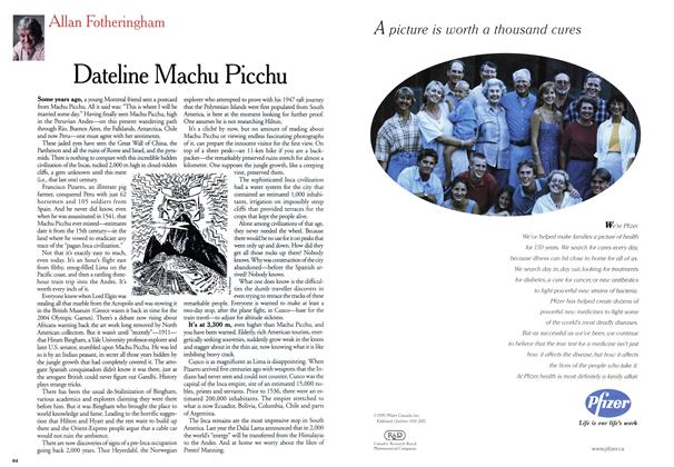 Article Preview: Dateline Machu Picchu, January 2000 | Maclean's