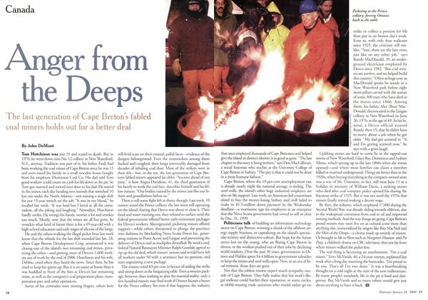 Article Preview: Anger from the Deeps, January 2000 | Maclean's