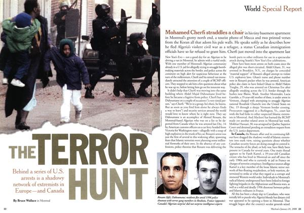 Article Preview: THE TERROR HUNT, January 2000 | Maclean's