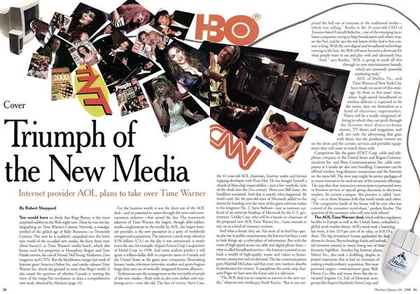 Article Preview: Triumph of the New Media, January 2000 | Maclean's