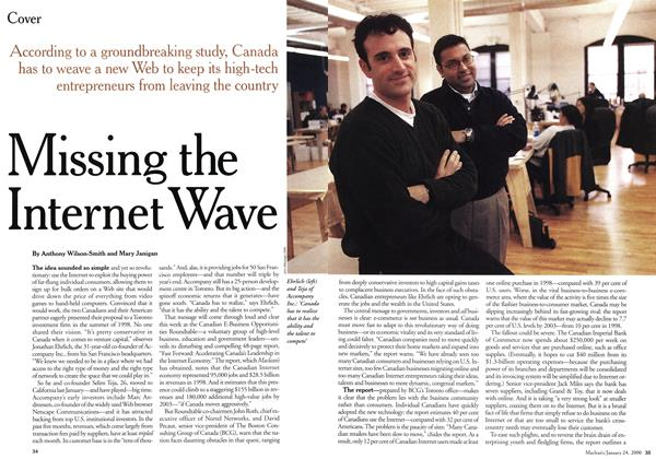 Article Preview: Missing the Internet Wave, January 2000 | Maclean's