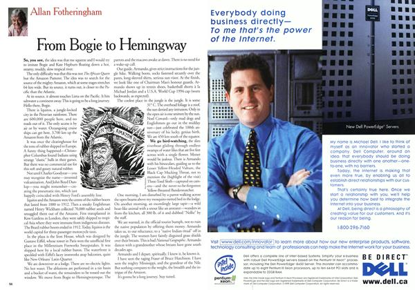 Article Preview: From Bogie to Hemingway, January 2000 | Maclean's