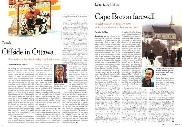 Article Preview: Cape Breton farewell, January 2000 | Maclean's