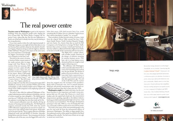 Article Preview: The real power centre, January 2000 | Maclean's