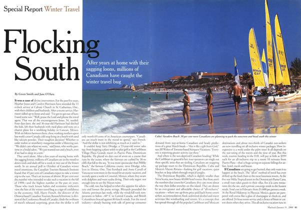 Article Preview: Flocking South, January 2000 | Maclean's