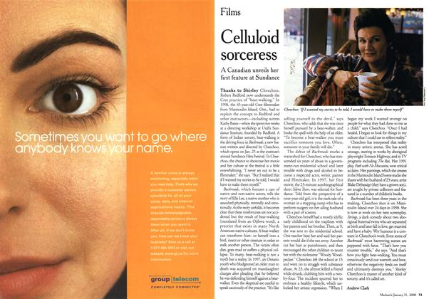 Article Preview: Celluloid sorceress, January 2000 | Maclean's