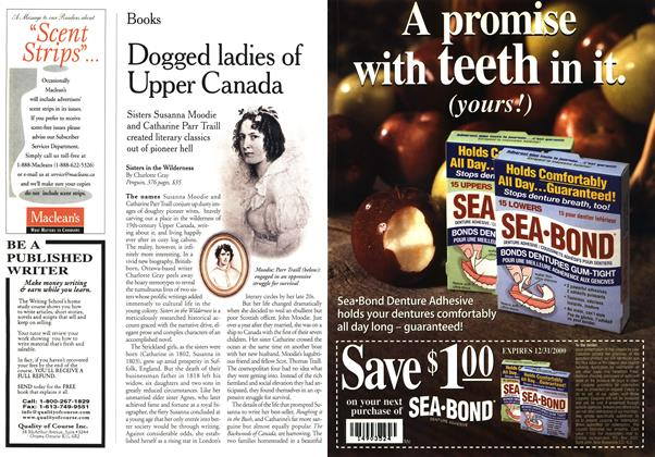 Article Preview: Dogged ladies of Upper Canada, January 2000 | Maclean's