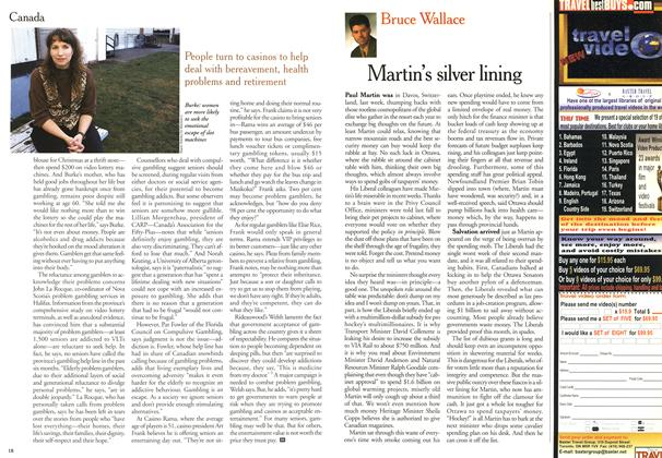 Article Preview: Martin's silver lining, February 2000 | Maclean's