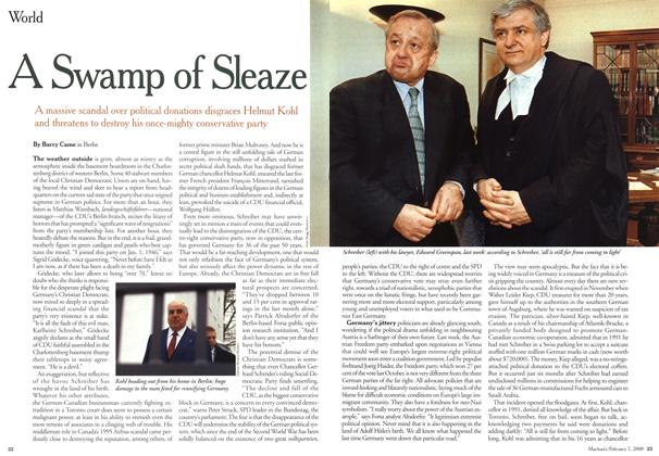 Article Preview: A Swamp of Sleaze, February 2000 | Maclean's
