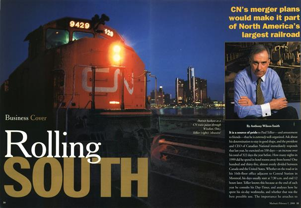 Article Preview: Rolling SOUTH, February 2000 | Maclean's