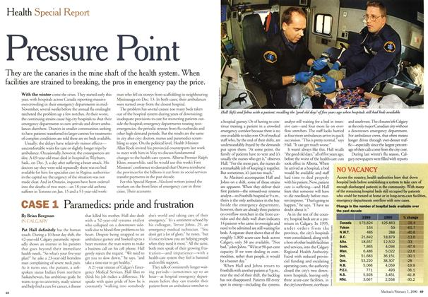 Article Preview: Pressure Point, February 2000 | Maclean's