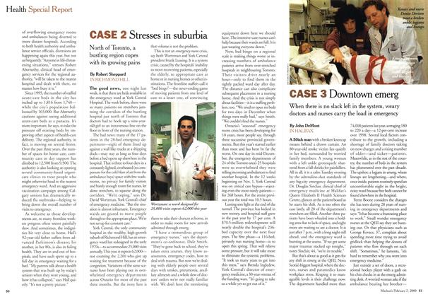 Article Preview: CASE 3 Downtown emerg, February 2000 | Maclean's