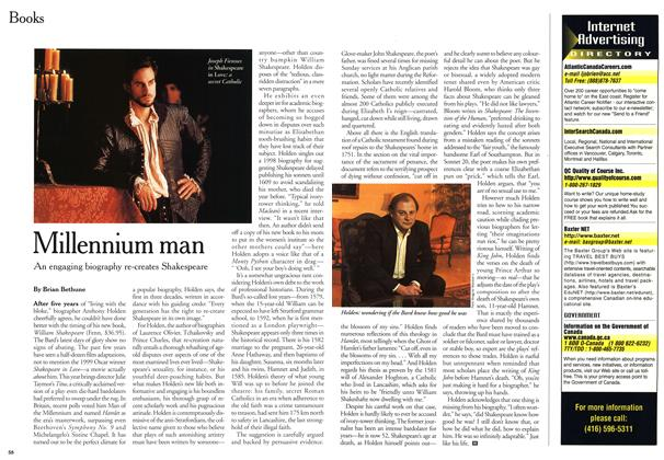 Article Preview: Millennium man, February 2000 | Maclean's
