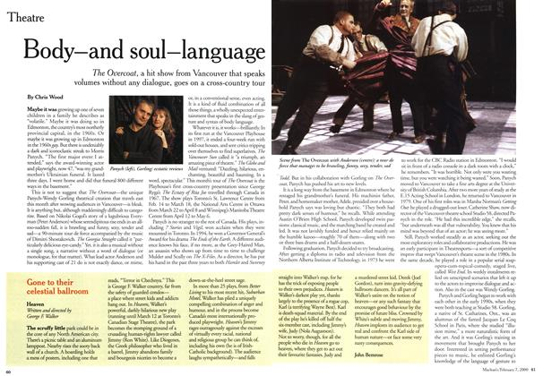 Article Preview: Body—and soul—language, February 2000 | Maclean's