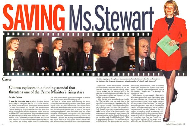 Article Preview: SAVING Ms. Stewart, February 2000 | Maclean's