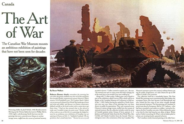 Article Preview: The Art of War, February 2000 | Maclean's