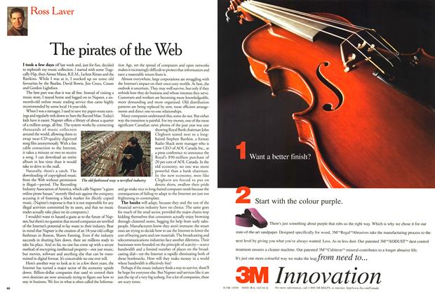 Article Preview: The pirates of the Web, February 2000 | Maclean's