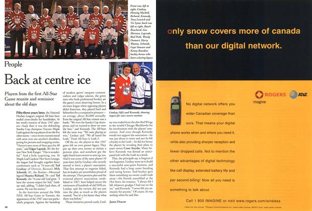 Article Preview: Back at centre ice, February 2000 | Maclean's