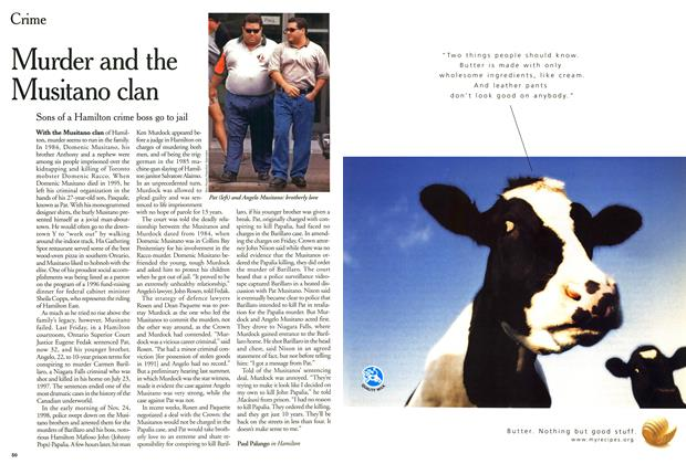 Article Preview: Murder and the Musitano clan, February 2000 | Maclean's