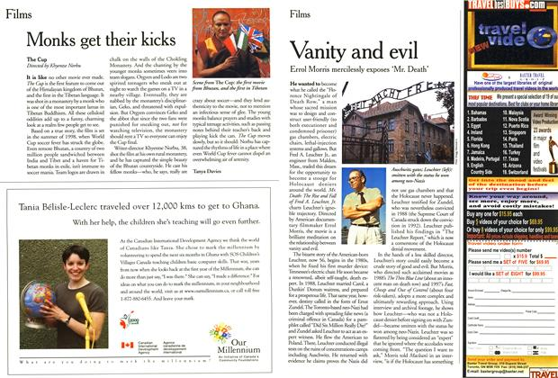 Article Preview: Vanity and evil, February 2000 | Maclean's