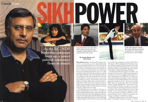 Article Preview: SIKHPOWER, February 21,2000 2000 | Maclean's