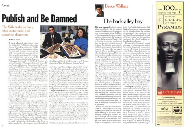 Article Preview: Publish and Be Damned, February 21,2000 2000 | Maclean's