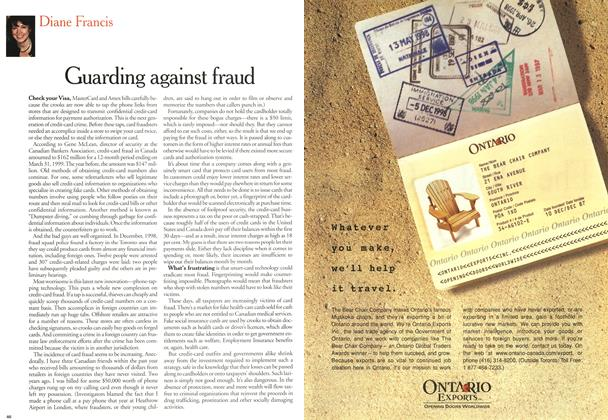 Article Preview: Guarding against fraud, February 21,2000 2000 | Maclean's