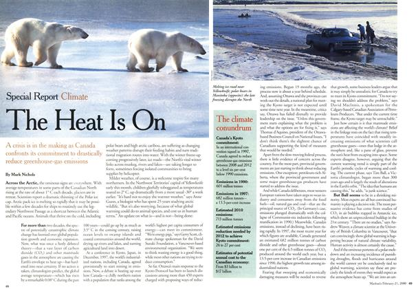 Article Preview: The Heat Is On, February 21,2000 2000 | Maclean's