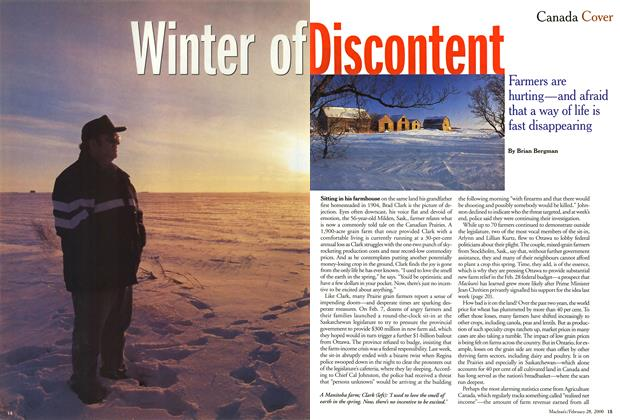 Article Preview: Winter of Discontent, February 2000 | Maclean's