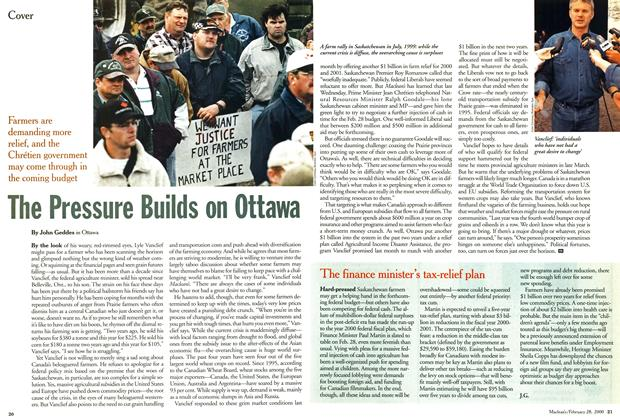 Article Preview: The Pressure Builds on Ottawa, February 2000 | Maclean's